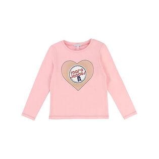 Girls' [4-8] Hearts T-Shirt