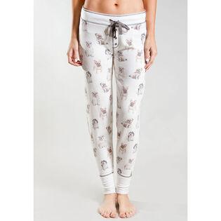 Women's Dogs On Display Pajama Pant