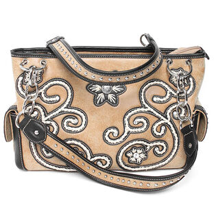 Women's Floral Embroidered Purse