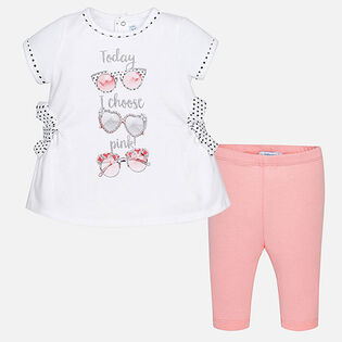 Baby Girls' [12-24M] I Choose Pink Two-Piece Set