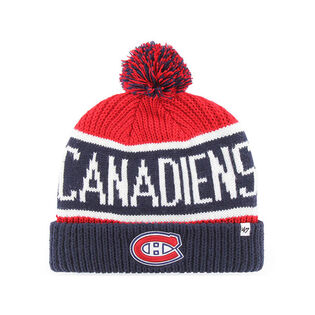 Tuque City en tricot Canadiens de Montréal pour hommes