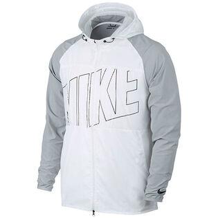 Men's Printed Packable Hooded Golf Jacket
