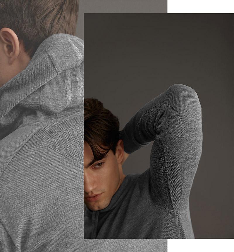 Canada Goose vêtements en tricot - Chandail à capuchon Amherst pour hommes
