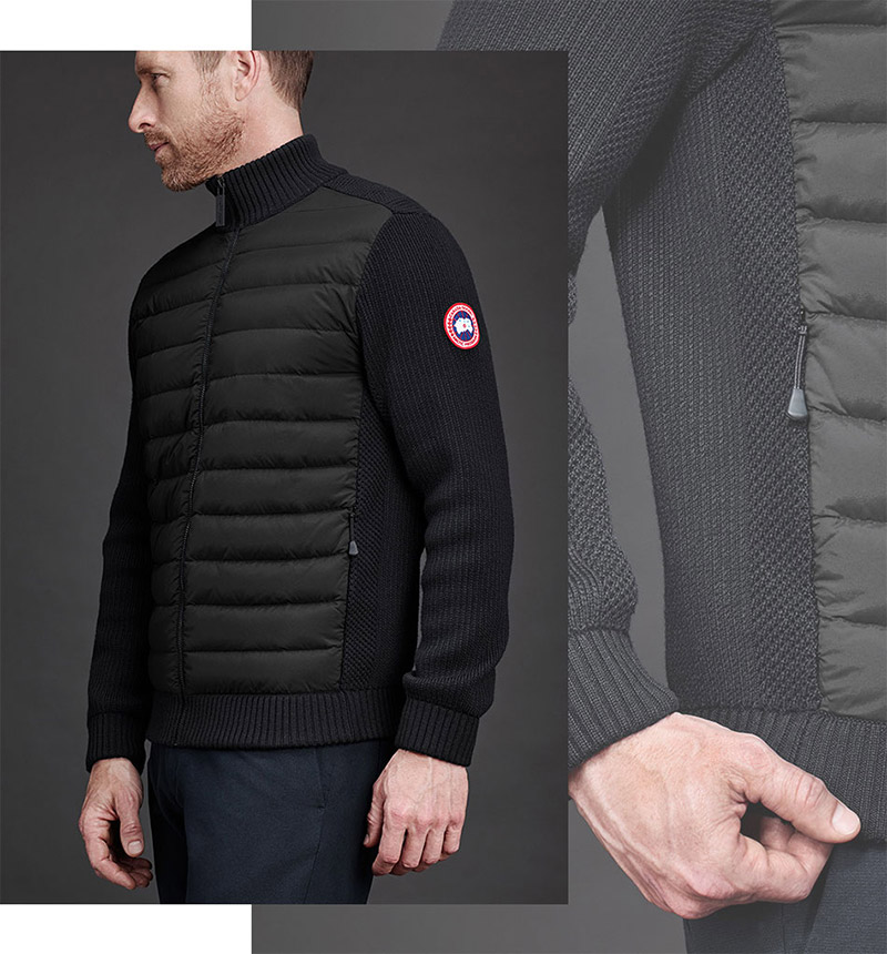 Canada Goose Knitwear - Men's Hybridge Knit Jacket