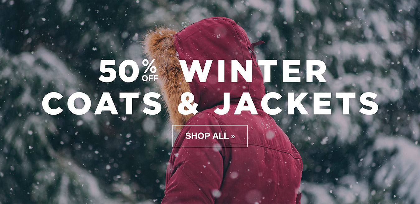 Winter Coats & Jackets - 50% Off