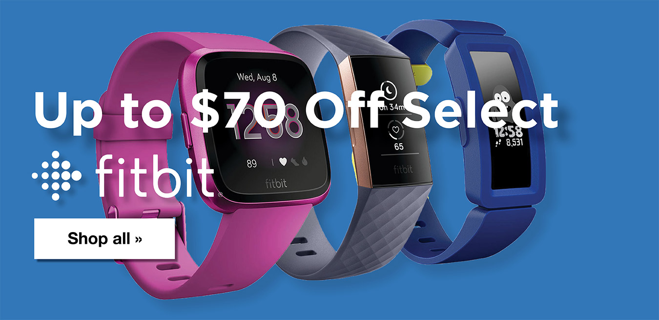 Fitbit - Up to $70 Off