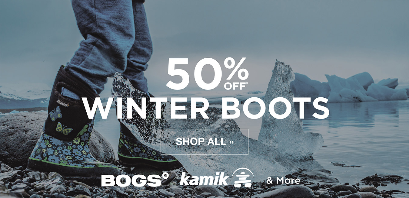 Winter Boots 50% Off