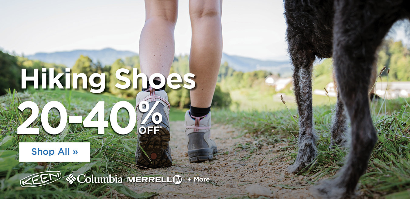 Hiking Shoes - 20% Off