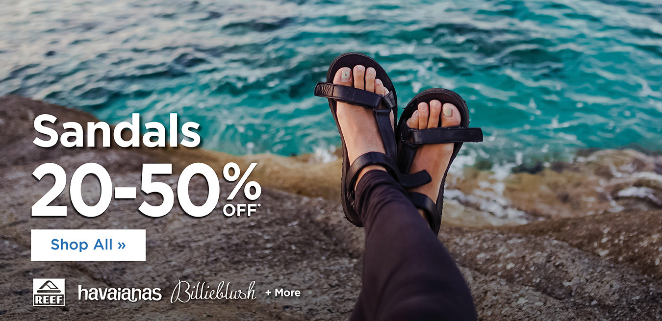 Sandals - 20% Off