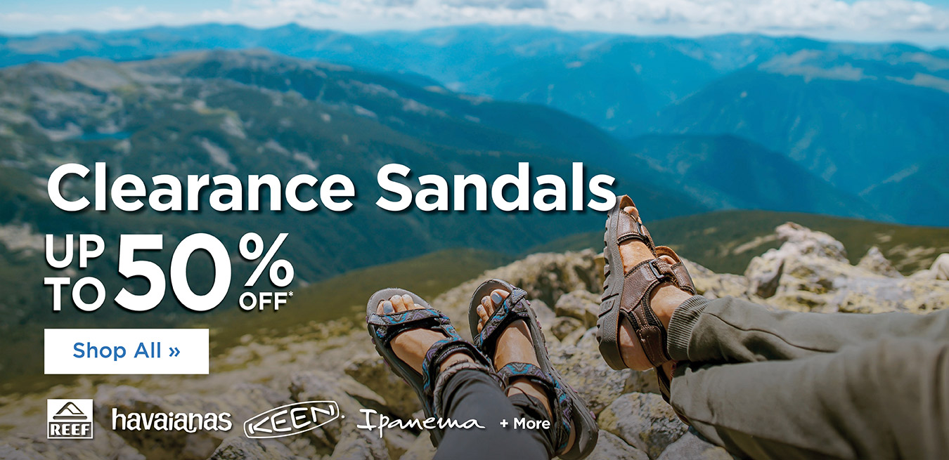 Summer Clearance - Up to 50% Off - Sandals
