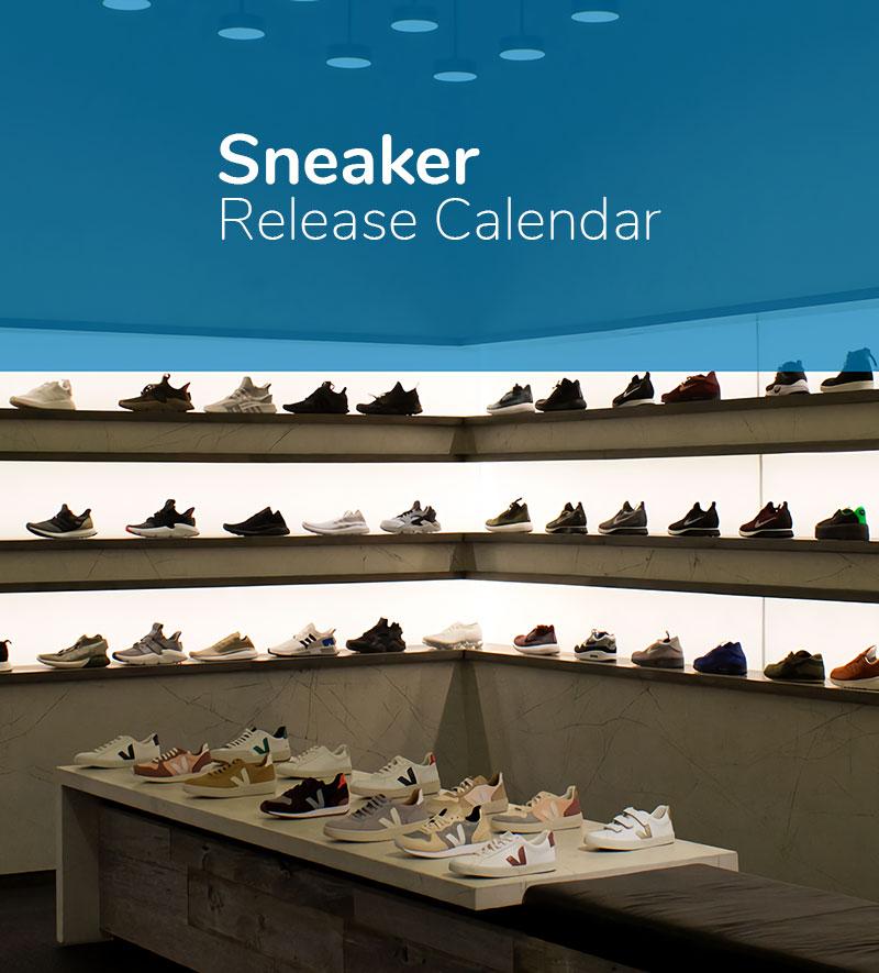 Shoe Release Calendar.Sneaker Release Calendar Sporting Life Online