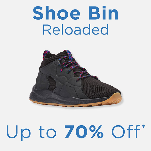 Shoe Bin Reloaded - Up to 70% Off