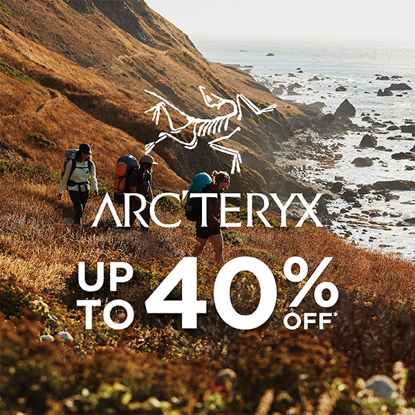 Arc'teryx - Up to 40% Off