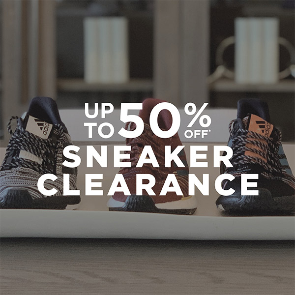 Sneaker Clearance Up to 50% Off