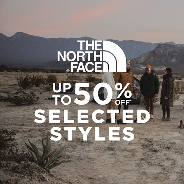 The North Face Up to 50% off
