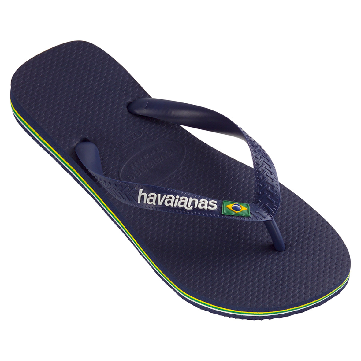 80cd5d0d277c7 Havaianas Men s Brazil Logo Flip Flop Sandal