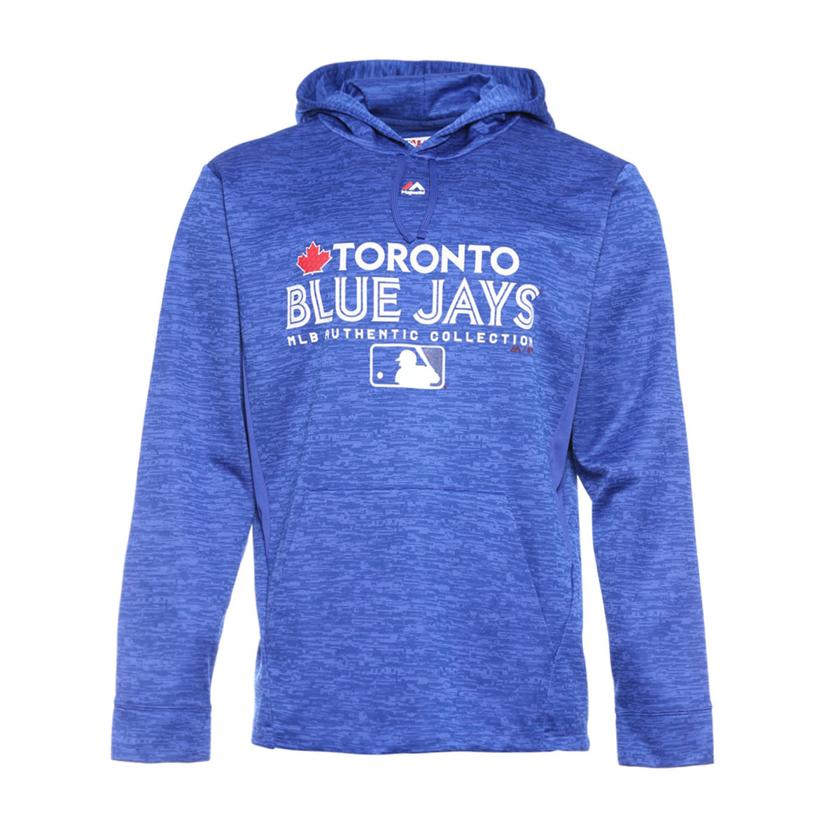size 40 94145 ef126 Men\'s Toronto Blue Jays Authentic Collection Team Drive Hoodie