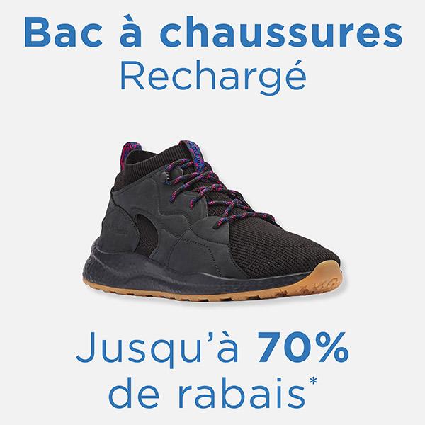 Bac à chaussures – Jusqu'à 70% de rabais