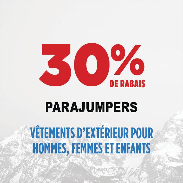 30% de rabais Parajumpers