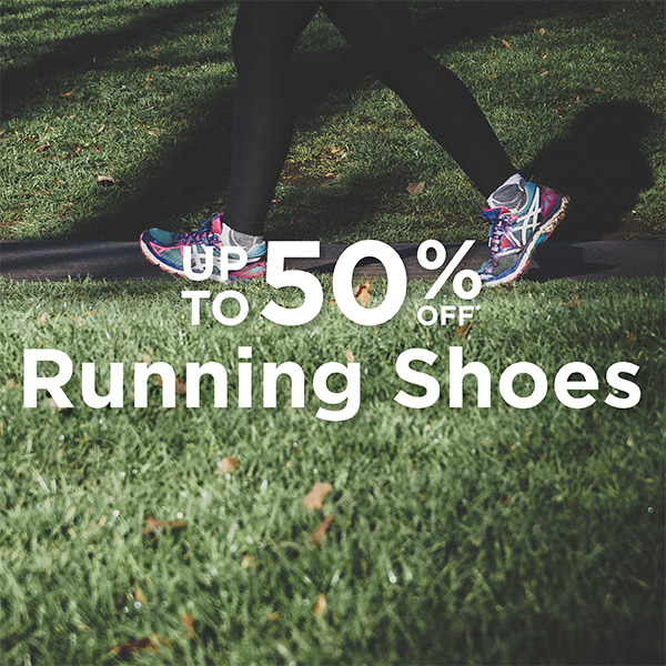 Running Shoes - Up to 50% Off