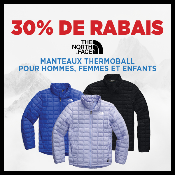 40% de rabais Vestes Thermoball The North Face