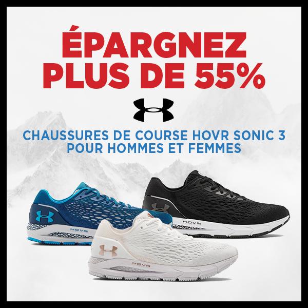 Économisez plus de 55% Chaussures de course HOVR™ Sonic 3 Under Armour pour hommes et femmes