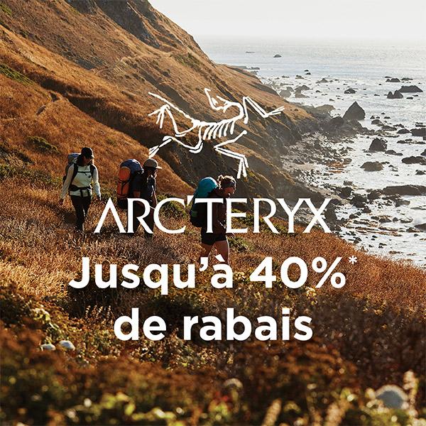 Arc'teryx - Jusqu'à 40% de rabais