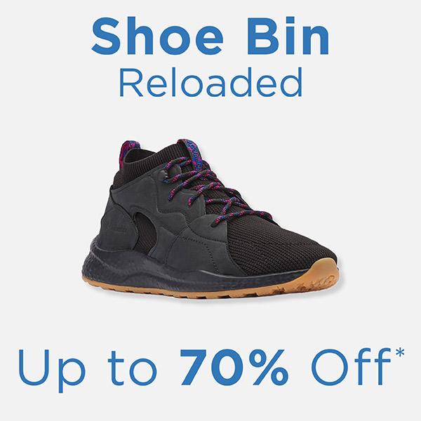 Shoe Bin Reloaded - Up to 70% Off