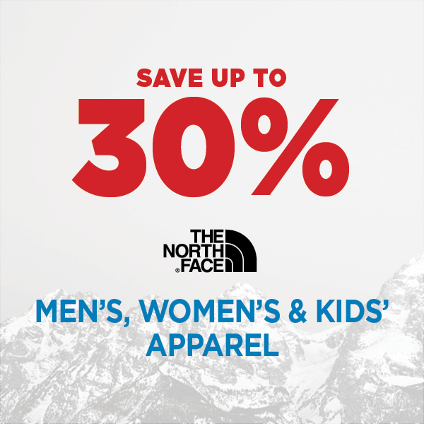 The North Face - Up to 30% Off