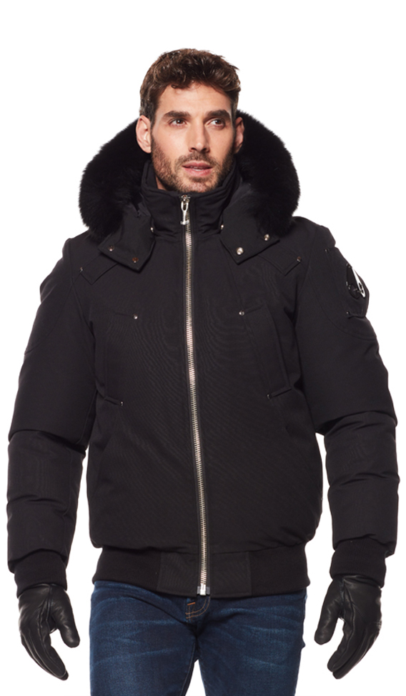 Moose Knuckles Men's Ballistic Bomber Jacket